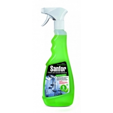 Чистящий спрей Sanfor для ванной комнаты Лимонная свежесть 500 мл.