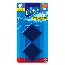Chirton Чистящий кубик для унитаза Морской прибой 2*50г.