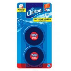 Chirton Чистящая таблетка для унитаза Морской прибой 2*50