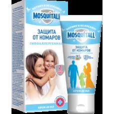 Mosquitall Гипоаллергенная защита крем от комаров 40 мл.