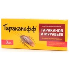Тараканофф приманка от тараканов и муравьев 3 шт.