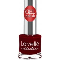 Lavelle Collection лак для ногтей  GEL POLISH 18 БОРДОВО-КРАСНЫЙ 10 мл.