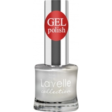Lavelle Collection лак для ногтей  GEL POLISH 01 белый 10 мл.