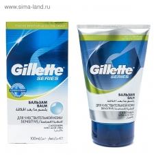 Бальзам после бритья Gillette Balm Sensitive Skin Для чувствительной кожи 100 мл.