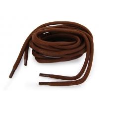 ШТРИХ Шнурки круглые толстые с пропиткой КОРИЧНЕВЫЕ 120 см.