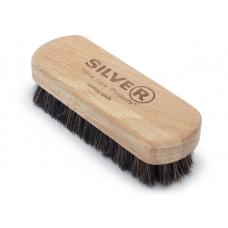 СИЛЬВЕР Щетка деревянная для обуви с натуральным ворсом