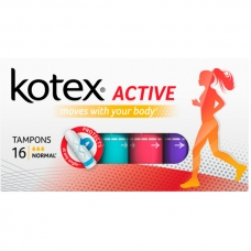 Тампоны Kotex Active Normal 16 шт.