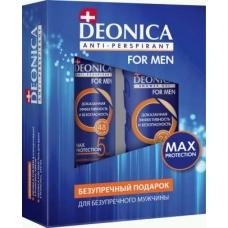 Deonica for Men Подарочный набор 5 Protection