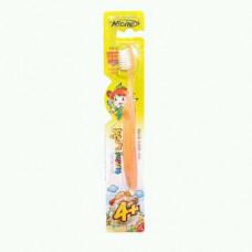 LION Niche Зубная щетка детская KIDS с 4 лет с тонкой щетиной
