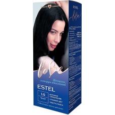 Estel LOVE Стойкая крем-краска тон 1/0 Черный