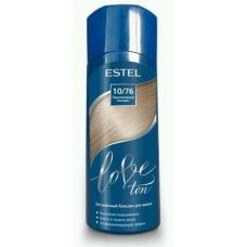 Estel LOVE Оттеночный бальзам для волос 10/76 Перламутровый блондин