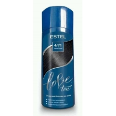 Estel LOVE Оттеночный бальзам для волос 4/71 Черный кофе