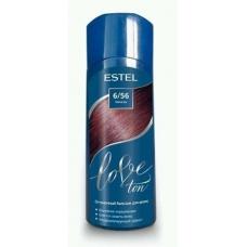 Estel LOVE Оттеночный бальзам для волос 6/56 Махагон