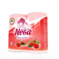 Туалетная бумага Nega Aroma Земляника 2 сл. 4 шт.
