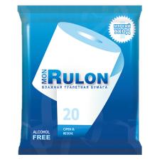 Mon Rulon влажная туалетная бумага 20 шт.