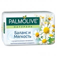 Мыло туалетное Palmolive Натурэль Баланс и мягкость ромашка и витамин Е 90 г.