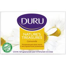 DURU Увлажняющее крем-мыло с экстрактом ромашки 90 г.