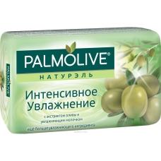 Мыло туалетное Palmolive Натурэль Интенсивное увлажнение олива и увлажняющее молочко 90 г.