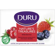 DURU Увлажняющее крем-мыло с лесными ягодами 90 г.