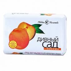 Мыло туалетное «Дивный сад» Персик 90г.