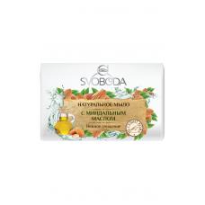 Мыло натуральное SVOBODA увлажняющее с миндальным маслом 100г
