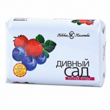Мыло туалетное «Дивный сад» Лесные ягоды 90г.
