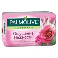 Мыло туалетное Palmolive Натурэль Ощущение нежности лепестки роз и молочко 90 г.