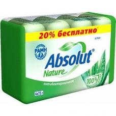 Мыло туалетное «Absolut NATURE» Алоэ 4*75г.