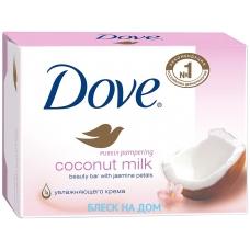 DOVE Крем-мыло Кокосовое молочко и лепестки жасмина 135 г.