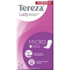 Прокладки урологические TerezaLady Micro 24 шт