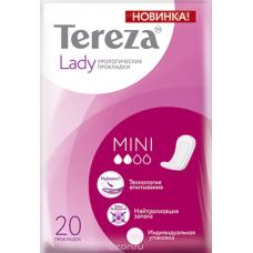 Прокладки урологические TerezaLady Mini 20 шт