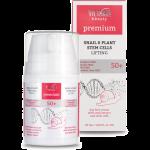 Дневной крем c экстрактом улитки + растительные стволовые клетки 50+ Day cream with SNAIL & Plant stem cells 50 мл.