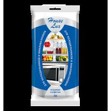 House Lux для холодильников и микроволновых печей с антибактериальными свойствами 30 шт.