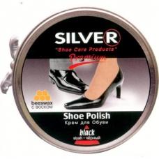 СИЛЬВЕР Premium Крем для обуви Классик в банке ЧЕРНЫЙ 50мл.