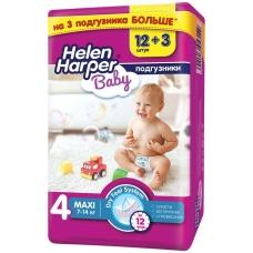Подгузники Helen Harper 7-14 кг. 4 MAХI 15 шт.