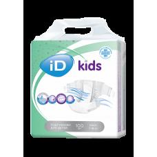 iD KIDS Подгузники для детей MAXI 7-18 кг. 100 шт.