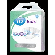 iD KIDS Подгузники для детей XL 15-30 кг.  84 шт.