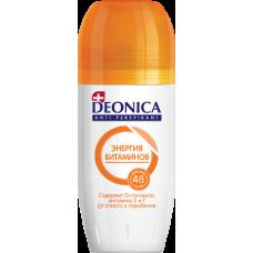 DEONICA Антиперспирант-ролик Энергия витаминов 50 мл.