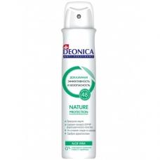 DEONICA Дезодорант аэрозоль Nature protection 200мл + влажные салфетки
