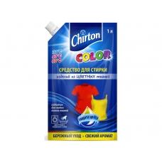 Chirton жидкое средство для стирки изделий из Цветных тканей 1000 мл.