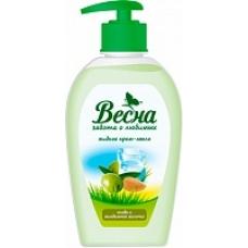 Жидкое мыло «Весна» Олива и миндальное молочко 280мл.