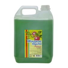 Мыло жидкое Радуга Яблоко 5 л. бело-матовая канистра