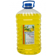 Мыло жидкое Радуга Лимон 5 л. ПЭТ