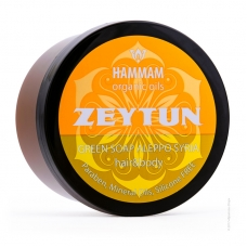 HAMMAM organic oils Густое алеппское мыло ZEYTUN 400г.