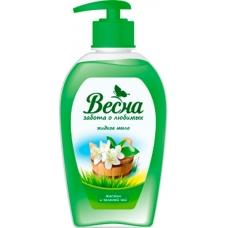 Жидкое мыло «Весна» Жасмин и зеленый чай 280мл.