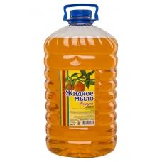 Мыло жидкое Радуга Апельсин 5 л. ПЭТ