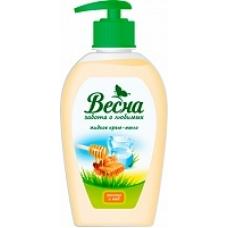 Жидкое мыло «Весна» Молоко и мед 280мл.