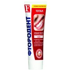 Зубная паста ФТОРОДЕНТ Тотал 125г.