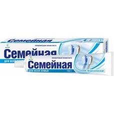 Лечебно-профилактическая зубная паста «Семейная» в футляре 100г.
