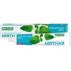 Зубная паста «Мятная»  Освежающая мята 100мл.